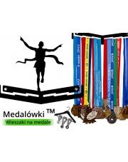 Medalówka - Biegacz na mecie 1